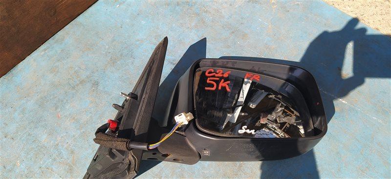 Зеркало Nissan Serena C26 переднее правое (б/у)