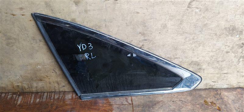 Стекло собачника Acura Mdx YD3 J35Y5 01.2019 левое (б/у)