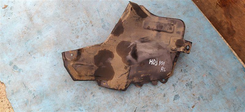 Защита горловины бензобака Toyota Land Cruiser HDJ101 1HD-FTE 07.2001 (б/у)