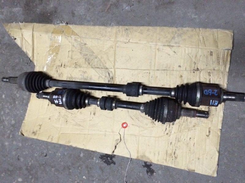Привод Nissan Note E11 HR15 передний левый