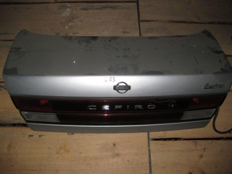 Крышка багажника Nissan Cefiro A32 VQ20 1995