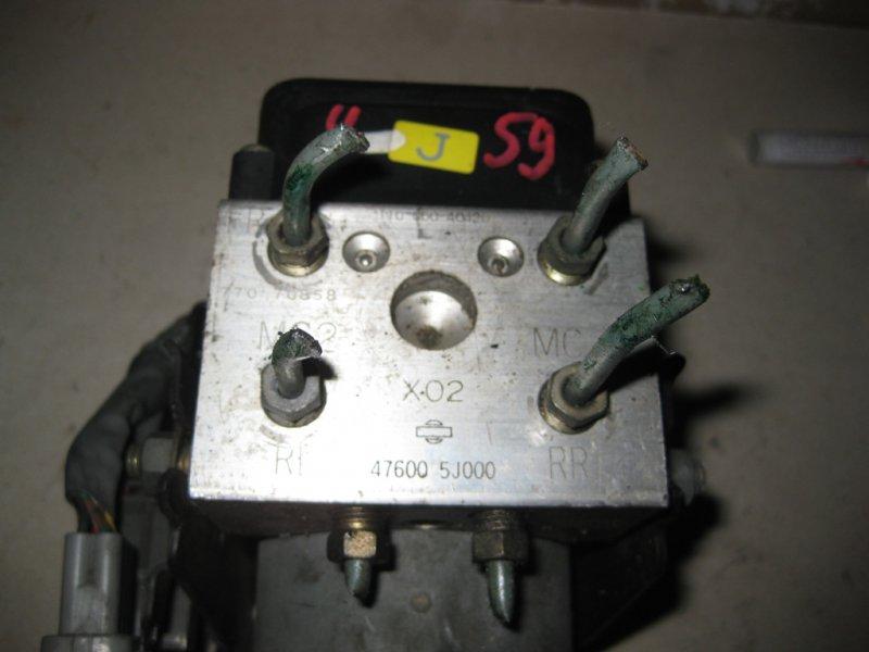 Блок управления abs Nissan Bluebird EU14 SR18 Серебро