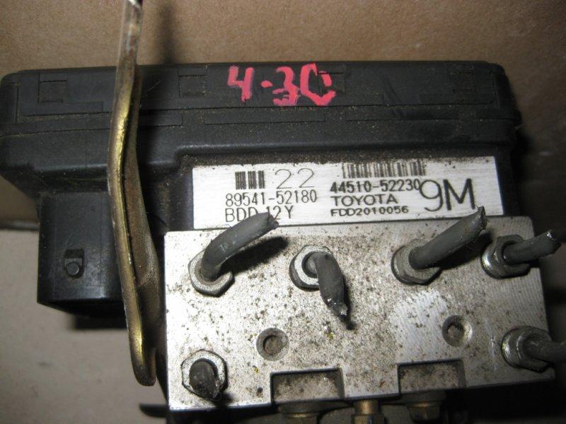 Блок управления abs Toyota Probox NCP58 1NZ 2005