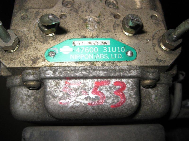 Блок управления abs Nissan Cefiro A32 VQ20 1996