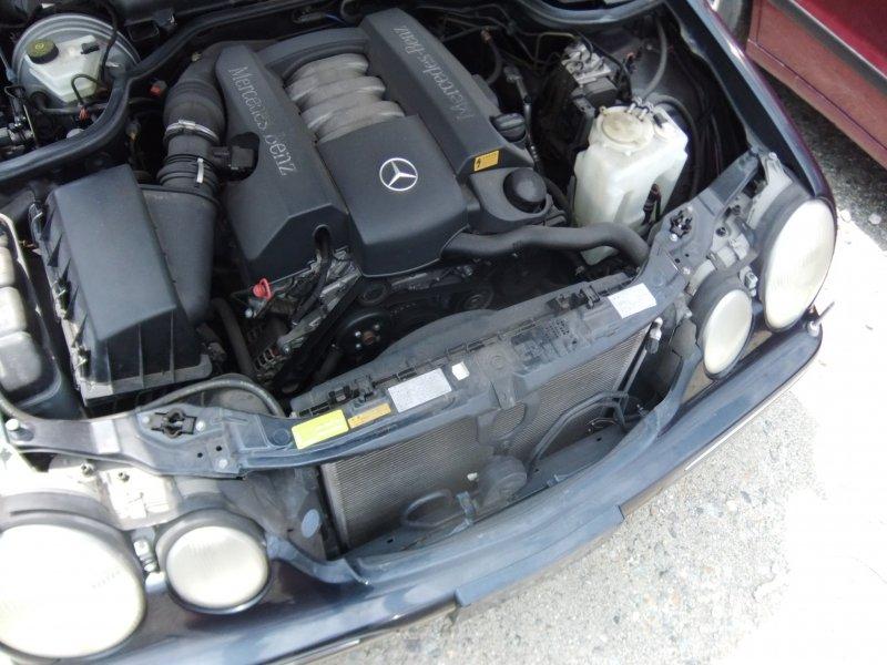Бачок расширительный Mercedes E-Class W210 M112.941 2000