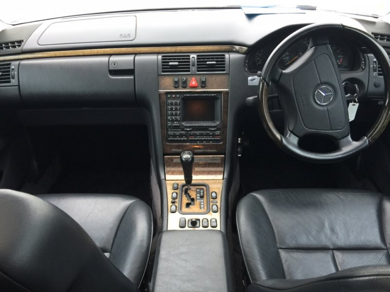 Блок управления климат-контролем Mercedes E-Class W210 M112.911