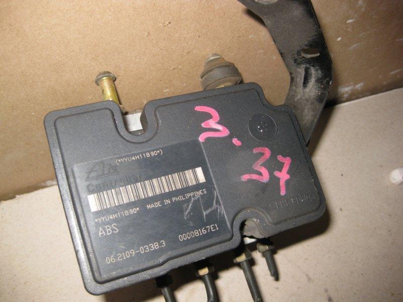Блок управления abs Toyota Passo QNC10 K3VE