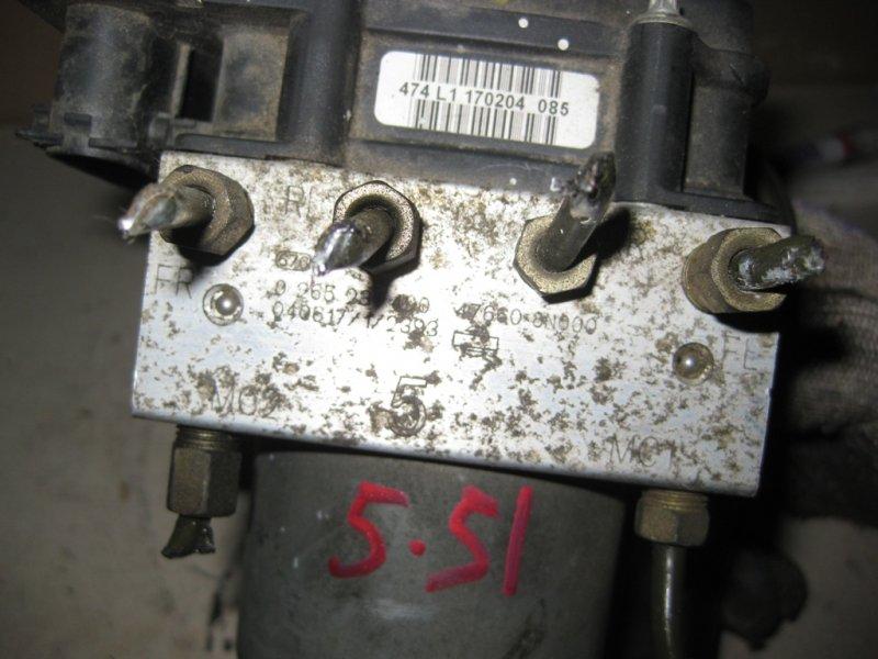 Блок управления abs Nissan Sunny B15 QG13DE