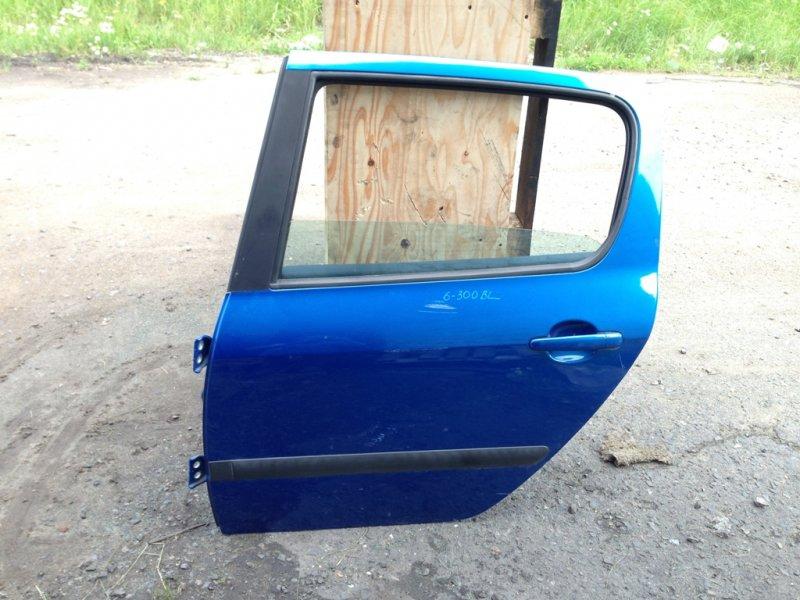 Дверь Peugeot 307 307 T5NFU 2003 задняя левая