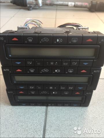 Блок управления климат-контролем Mercedes E-Class W210 M112.941 2000