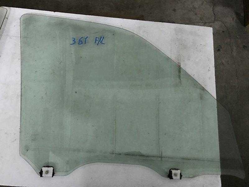 Стекло двери Nissan Cube Z10 CG13DE переднее левое