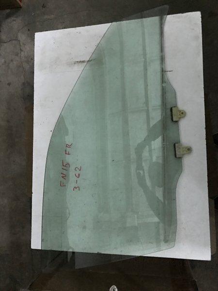 Стекло двери Nissan Pulsar FN15 GA15 переднее правое