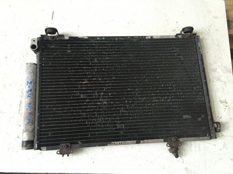 Радиатор кондиционера Toyota Vitz NCP10 2NZ 2000