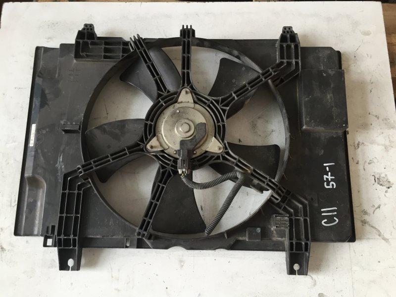 Диффузор радиатора Nissan Tiida C11 HR15
