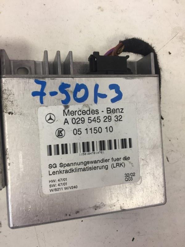 Блок управления Mercedes E-Class W211 M112.949 2003