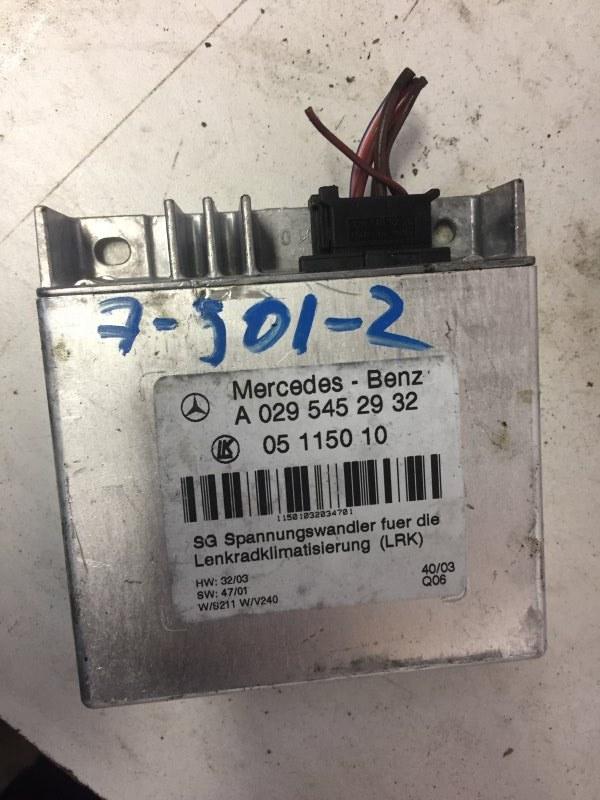 Блок управления Mercedes E-Class W211 M112.949 2004