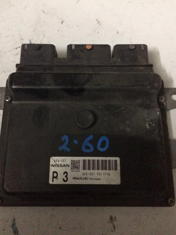 Блок управления efi Nissan Note E11 HR15