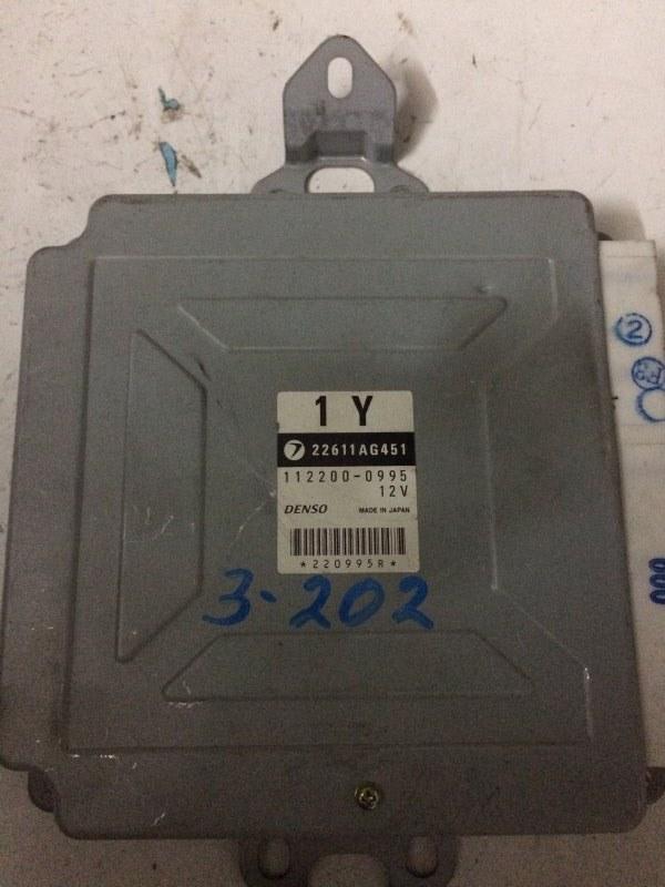 Блок управления efi Subaru Legacy B4 BE5 EJ206 2001