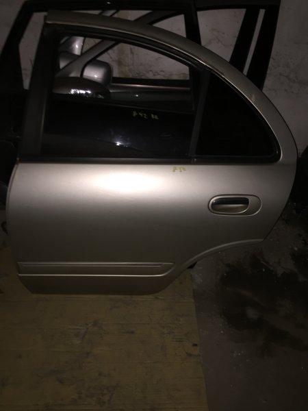 Дверь Nissan Bluebird Sylphy QNG10 QG18 2002 задняя левая