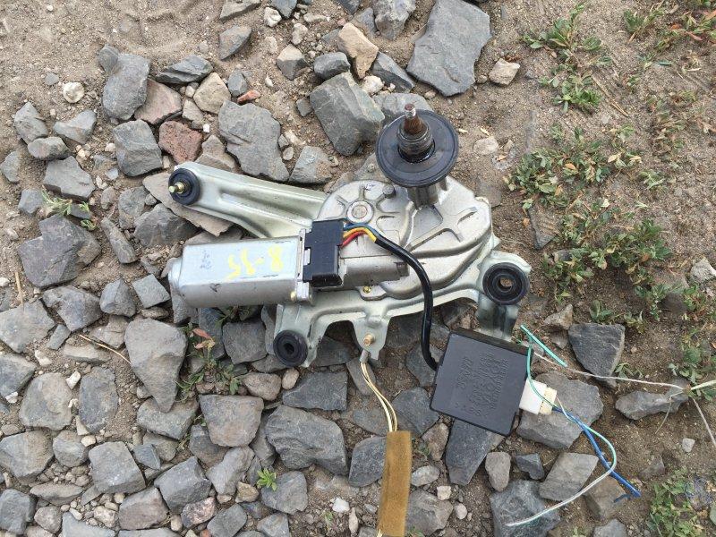 Мотор заднего дворника Toyota Caldina AT211 7A