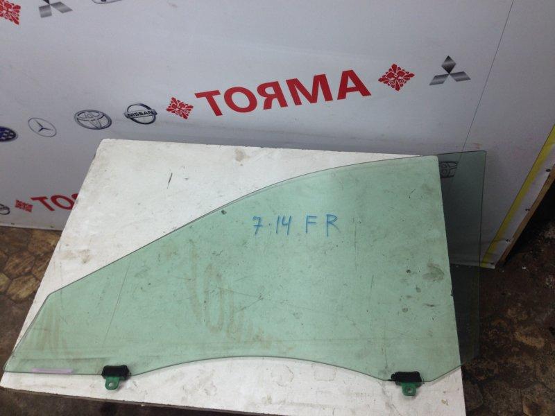 Стекло двери Toyota Camry ACV30 2AZ 2005 переднее правое