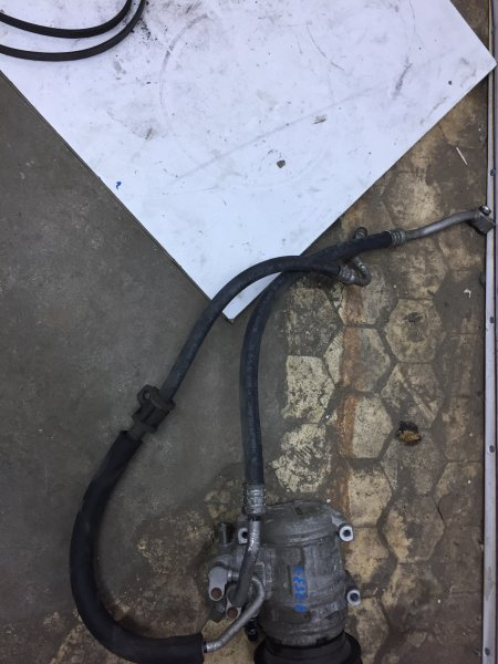 Шланг радиатора Mitsubishi Rvr N23W 4G63 DOHC 1995