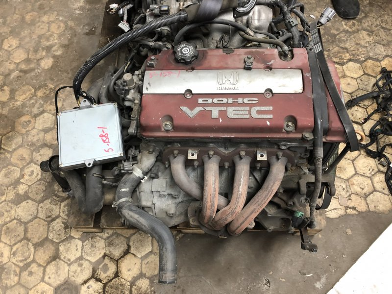 Двигатель Honda Accord CL1 H22A 2001