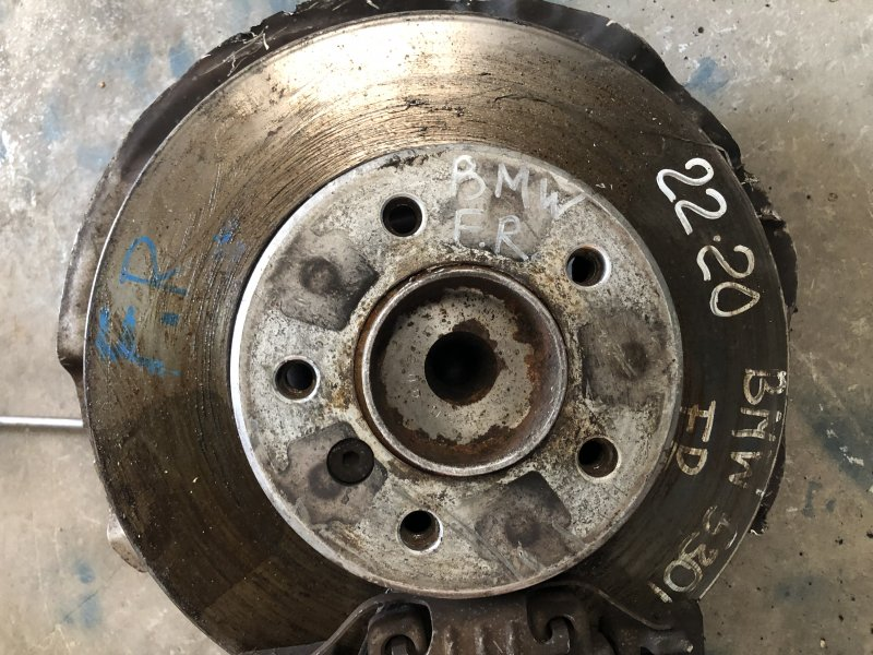 Тормозной диск Bmw 5-Series E60 N52B25A 05/2007 передний