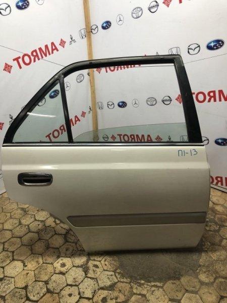 Дверь Toyota Corona Premio AT210 3S задняя правая