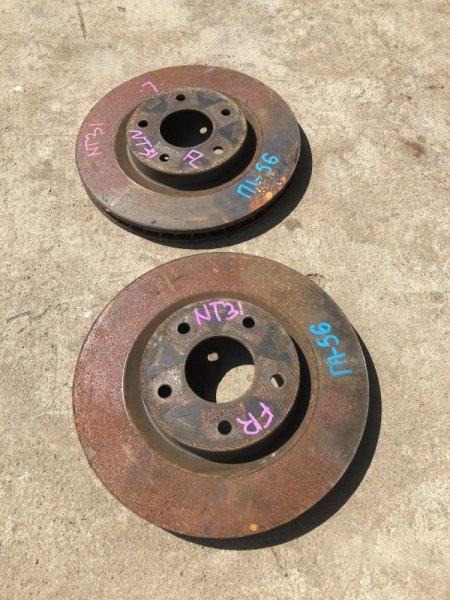 Тормозные колодки Nissan X-Trail DNT31 переднее