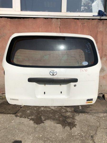 Дверь 5-я Toyota Probox NCP50V 2006