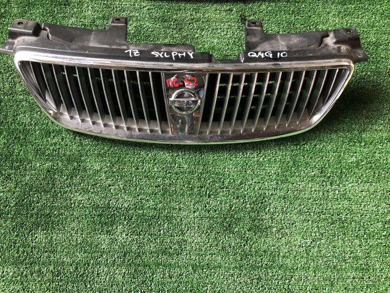 Решетка радиатора Nissan Bluebird Sylphy FG10 QG13DE 2004