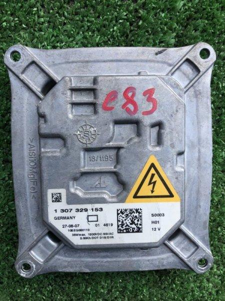 Блок розжига ксенона Bmw X3 E83 N52K 2007