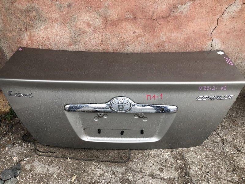 Крышка багажника Toyota Corolla CE121 1NZ 2000