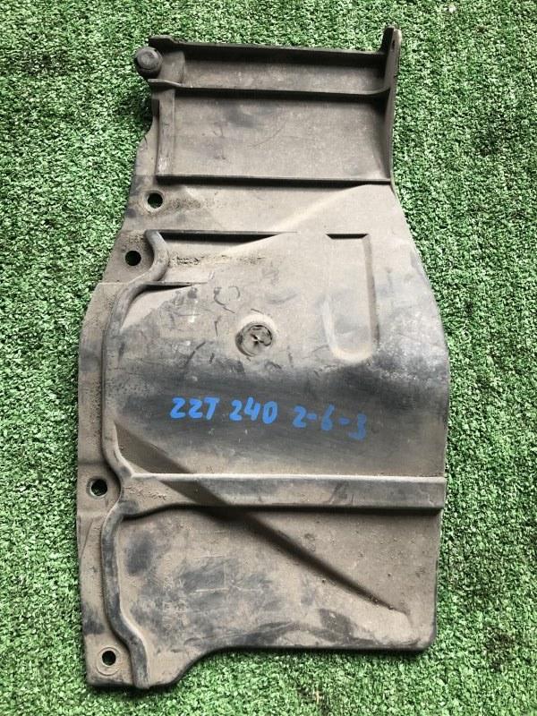 Защита двигателя Toyota Vista AZV50 левая