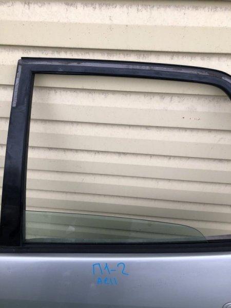 Стекло двери Toyota Spacio AE111 заднее левое