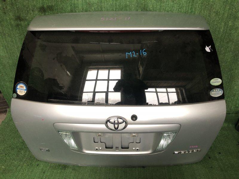 Дверь 5-я Toyota Corolla Fielder NZE121 1NZFE 2004.07