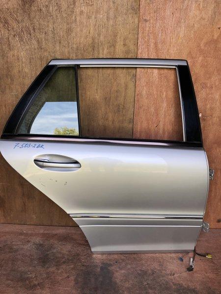 Дверь Mercedes C-Class W203 M112.912 2001 задняя правая