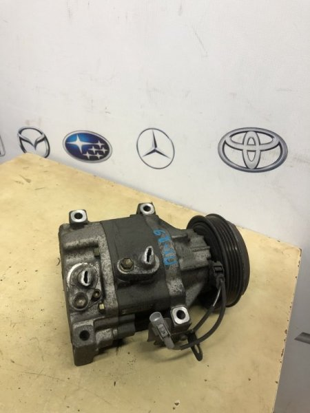Компрессор кондиционера Toyota Platz SCP10 1SZ