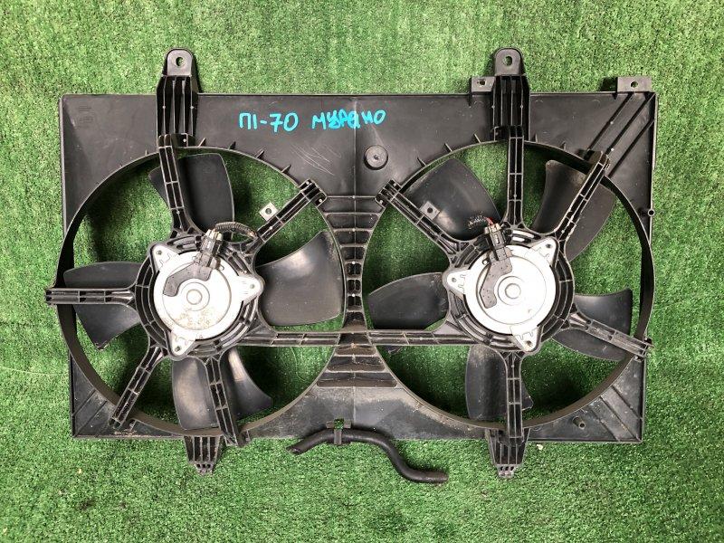 Диффузор радиатора Nissan Murano PNU31 QR25DE