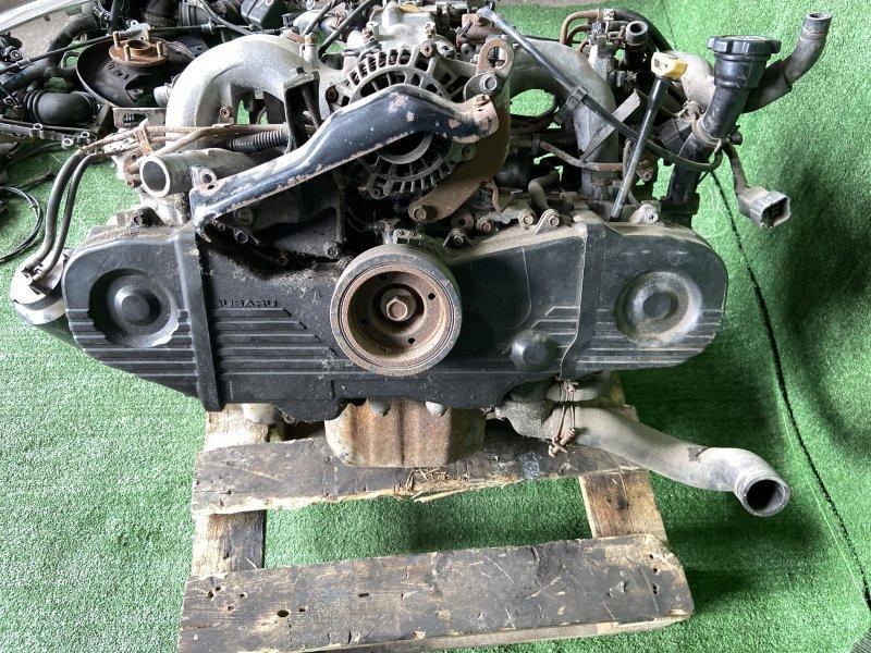 Двигатель Subaru Legacy BC2 EJ22 2200CC ENGINE 1989