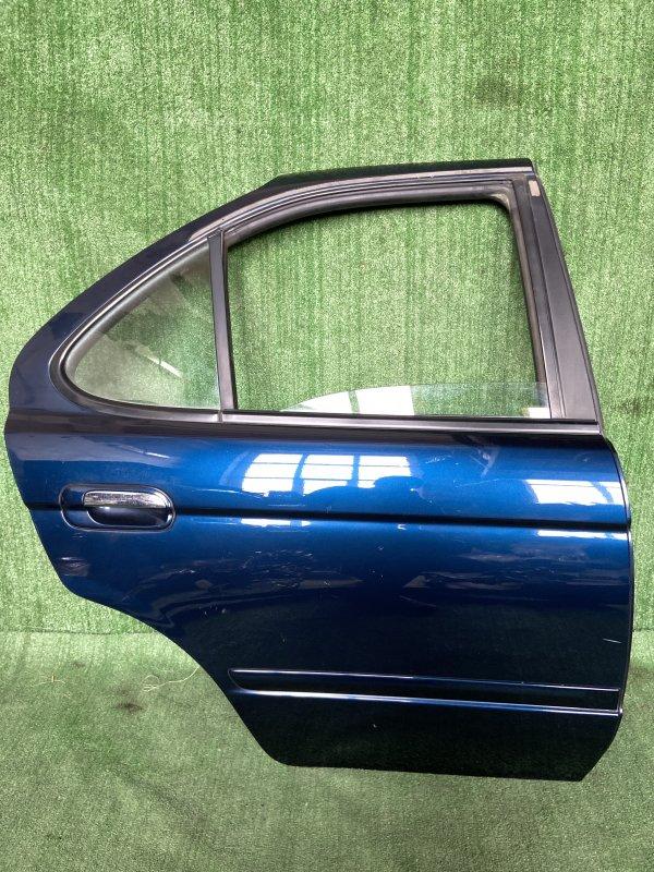Дверь Nissan Sunny B15 QG15 2003 задняя правая