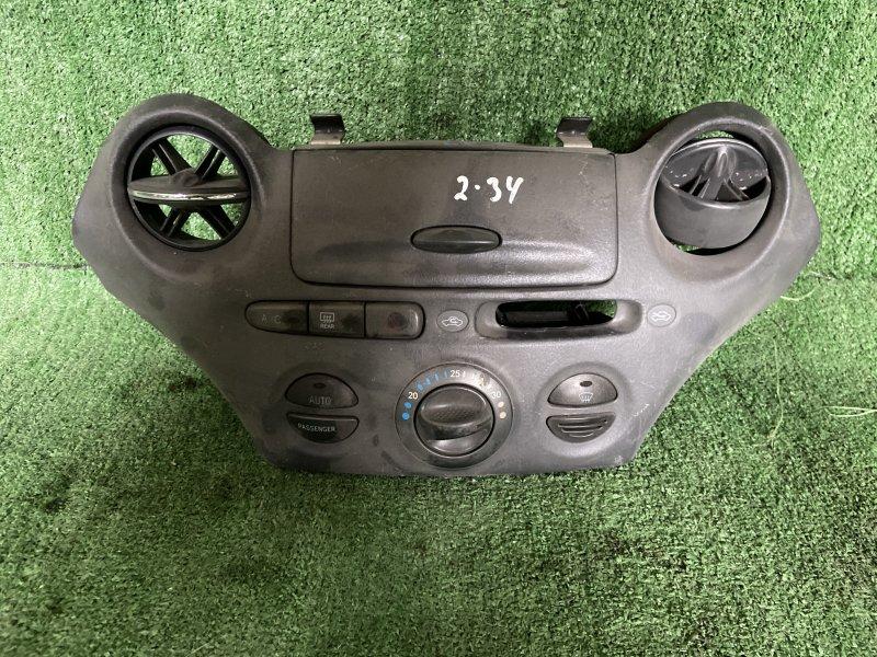 Климат-контроль Toyota Vitz NCP10 2NZ 2000