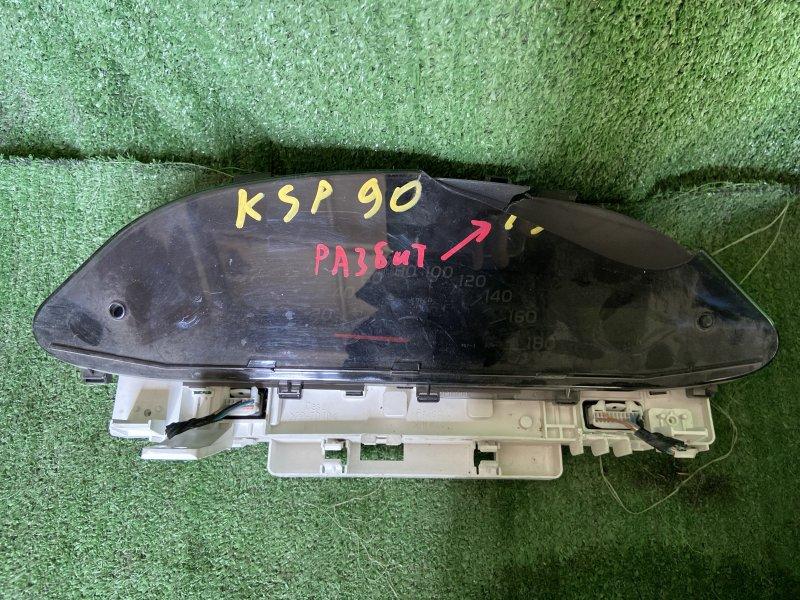 Панель приборов Toyota Vitz KSP90 1KRFE 2006