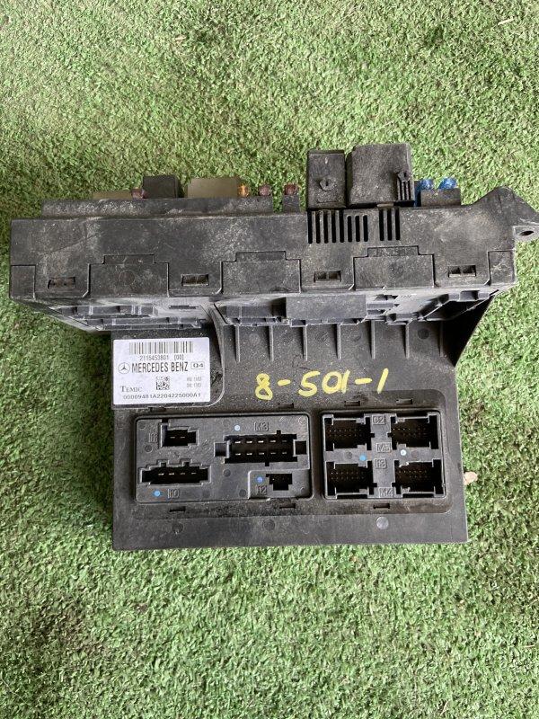 Блок sam Mercedes E-Class W211 M112.913 2004 передний