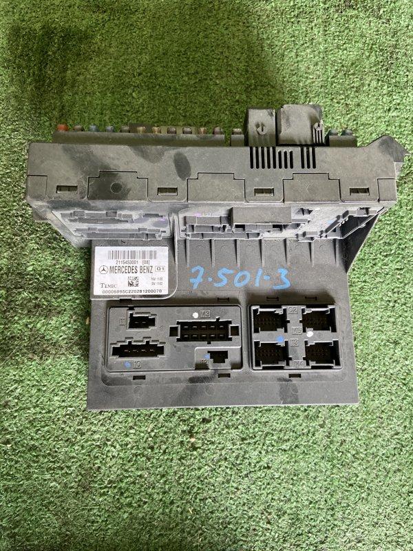 Блок sam Mercedes E-Class W211 M112.949 2003 передний