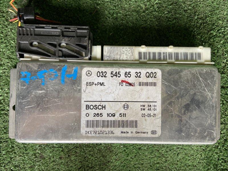 Блок управления esp Mercedes E-Class W211 M112.949 21/06/2002