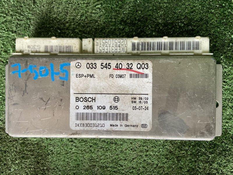 Блок управления esp Mercedes E-Class W211 M112.913 2003