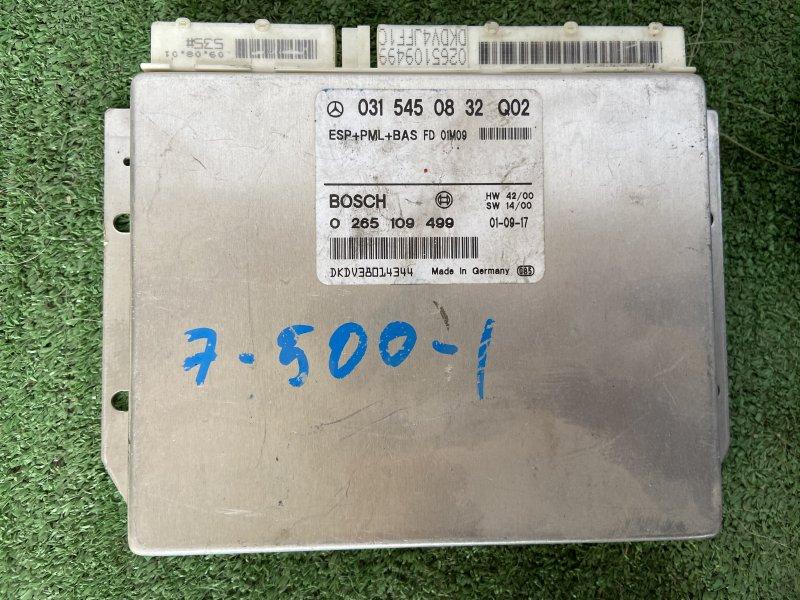 Блок управления esp Mercedes E-Class W210 M112.914 2001