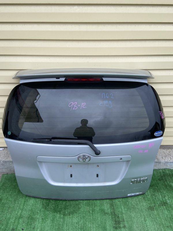 Дверь 5-я Toyota Spacio NZE121